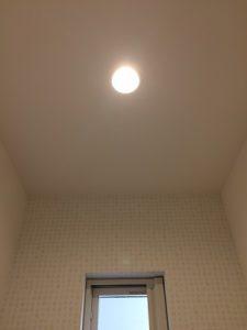 イシンホーム トイレ 照明
