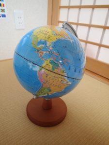 地球儀 頭がいい子の家のリビングには必ず「辞書」「地図」「図鑑」がある