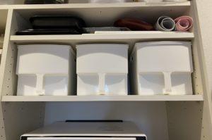 キッチンの調理器具を取り出しやすくする収納グッズ
