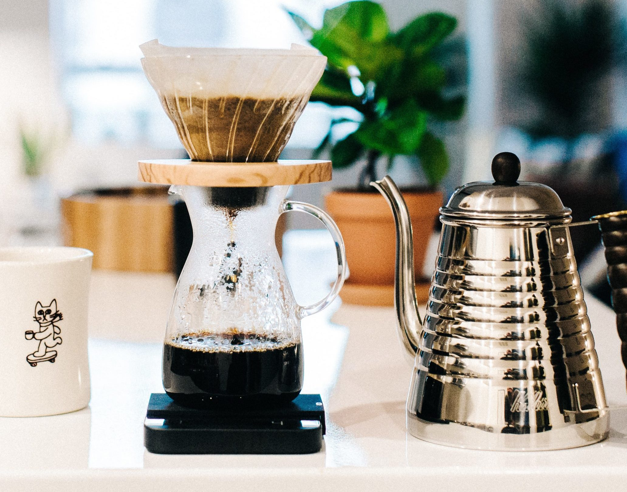 自宅で簡単にできる!美味しいドリップコーヒーの入れ方