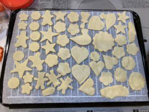 子どもが大好きな卵を使わない簡単クッキーの作り方を紹介します